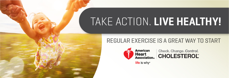 Take action, live healthy. Learn how.